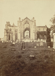 Melrose Abbey, From The East